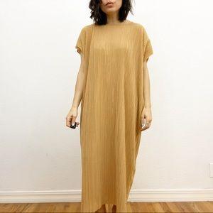 Zara Tan Kaftan Dress